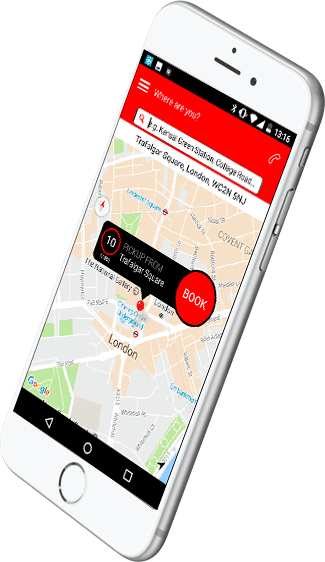 Airport Transfers in Notting Hill - App